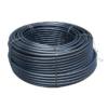 PE100 SDR17 PN10 cső D40x2,4 Kék csíkos, Vízre L=100m