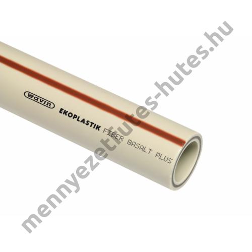 Ekoplastik PP-RCT Fiber Basalt Plus cső D50 L=4m